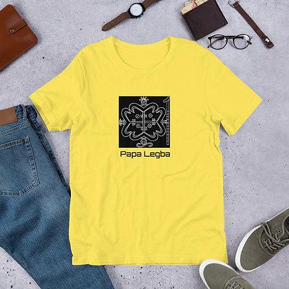 Papa Legba Veve Short-Sleeve Unisex T-Shirt