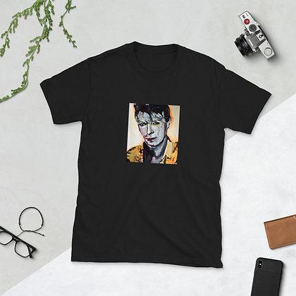 Tribute to David Bowie artwork Lilika Papagrigoriou Short-Sleeve Unisex T-Shirt