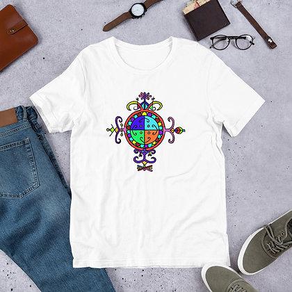 Rainbow Simbi Veve Graphic Short-Sleeve Unisex T-Shirt