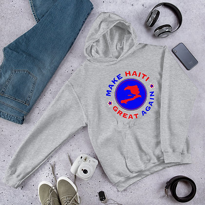 Make Haiti Great Again Unisex Hoodie