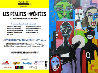 """Les Realities Inventees"" Contemporary Art Exhibit (November 7th-16th)"