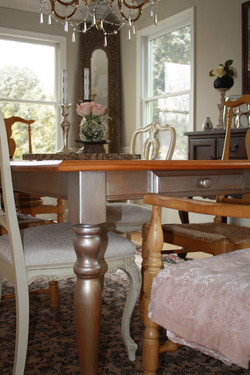Simple Pine Dining Table