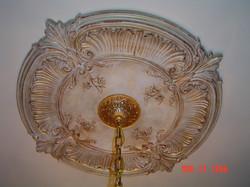 Gold Gilded Ceiling Medallion