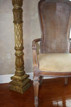 Glazed Dining Chair