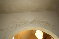 Color Washed Ceiling
