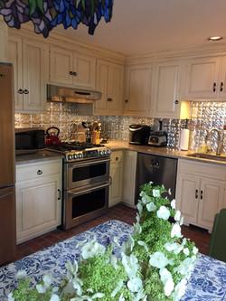 Vintage Old World Painted Kitchen