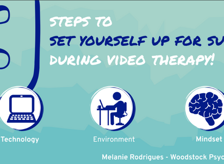 Three Steps for Great Video Therapy!