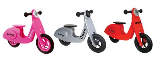 loopfiets met naam scooter