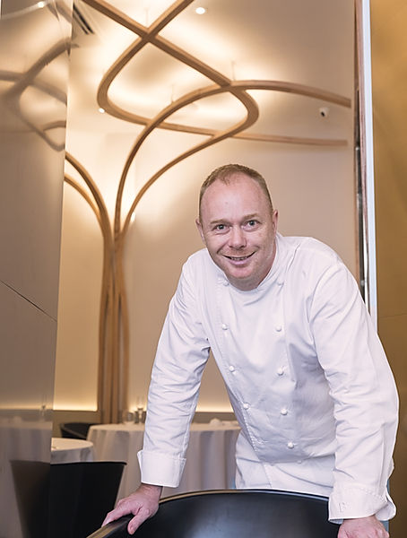 Chef Gunther Hubrechsen