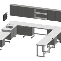 Stół przyścienny narożny 4050x700_4000x7