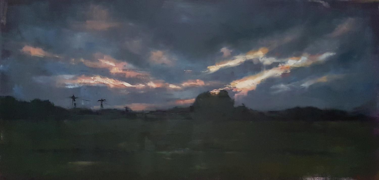 Moving On (Landschaft bei Bremen)