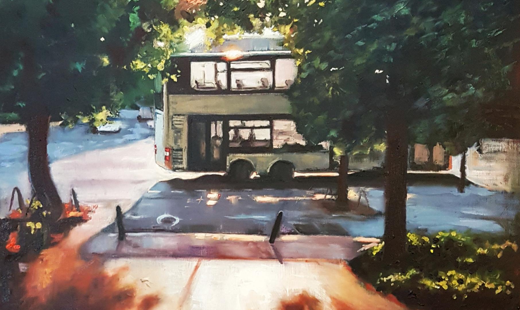 Bus zum Abendrot