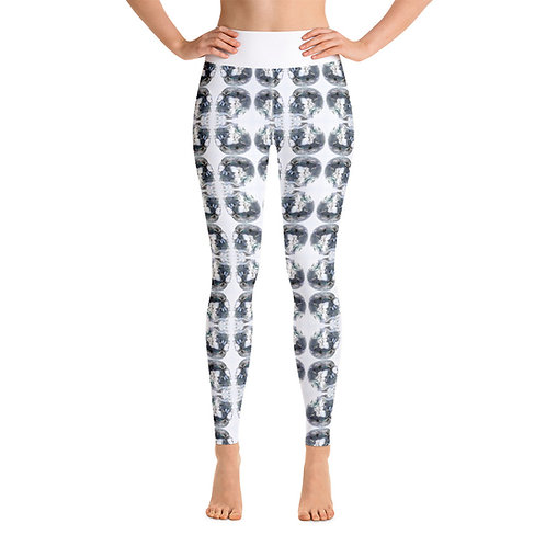Crystal Skull Yoga Pants Yoga Leggings Between heaven and Hell Apparel