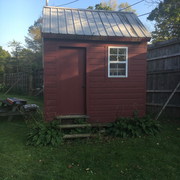 Shed Remodel - Before
