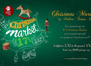 Christmas Market @PolitiaTennisClub