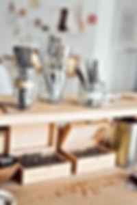 tools goldsmith goldsmithery workshop shopfloor Michaela Römer love rings wedding engagement drills