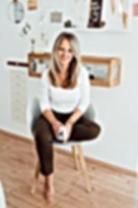 Michaela Römer in her studio