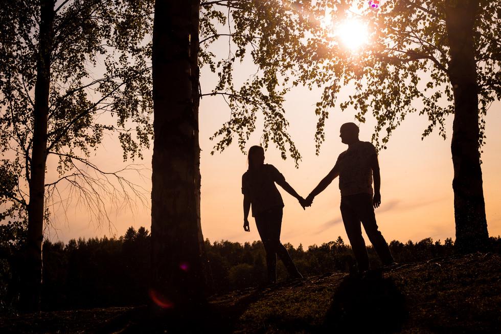 pariskuntakuvaus myllysaari, pariskuntakuvaus auringonlasku, pariskuntakuvaus lahti