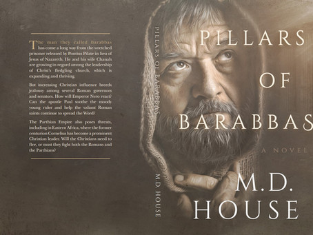 Pillars of Barabbas Cover Revealed!