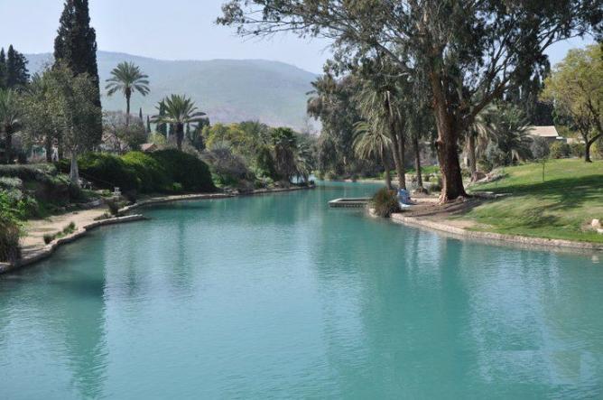 David River in Israel