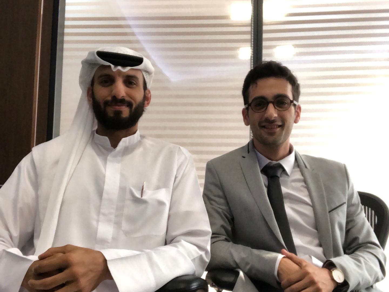Meeting with Al Habtoor Board Member Tariq Al Habtoor