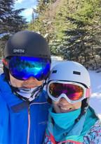 Lin and Shan ski trip