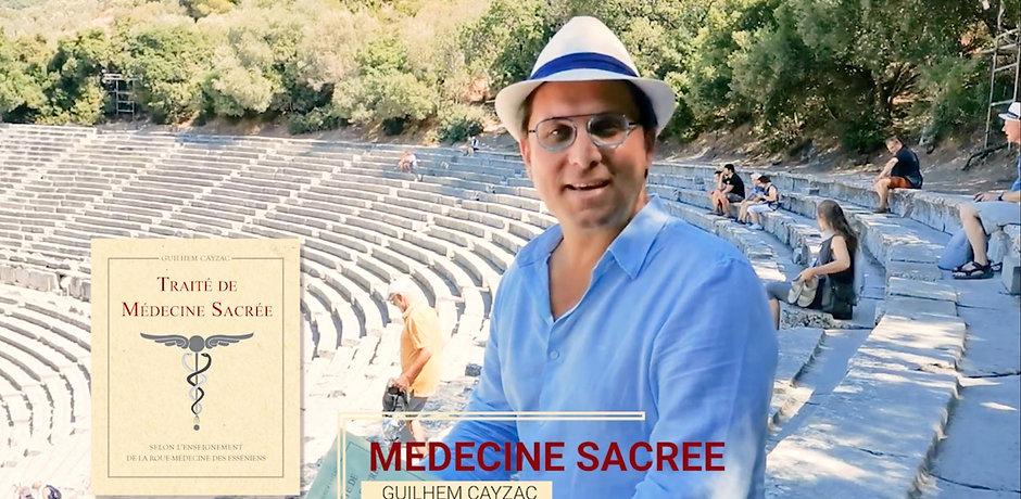 Guilhem Cayzac | Essénien Grèce | Médecine Sacrée