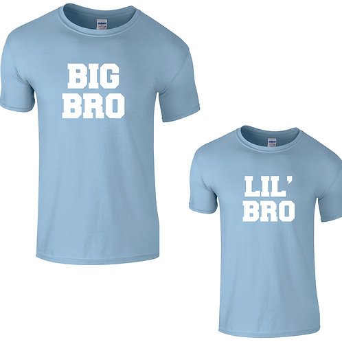big bro little bro tees