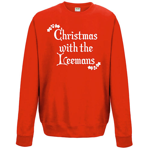 Adults Personalised Christmas Jumper