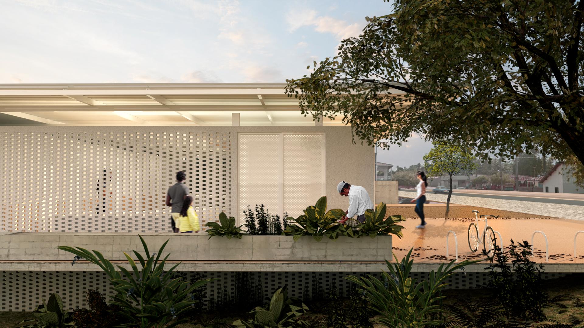 Unidade Saúde Gurugi - YVA Arquitetura 2