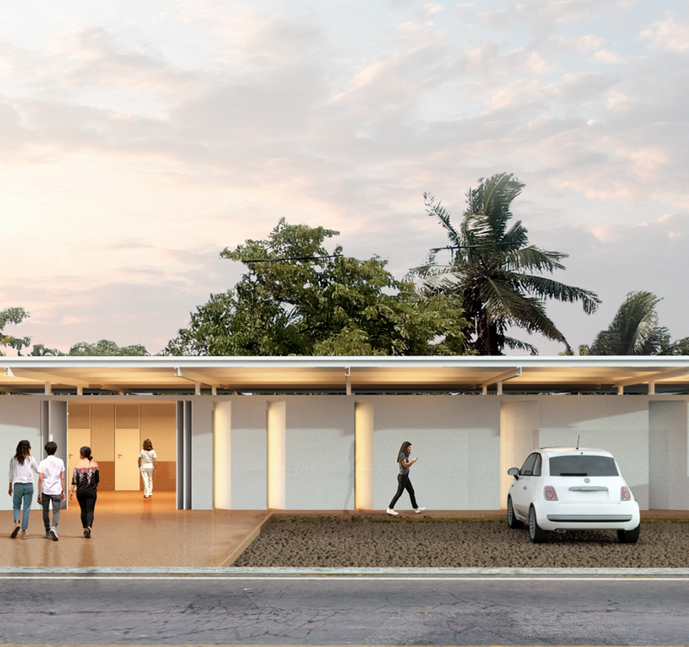 Unidade Saúde Gurugi - YVA Arquitetura