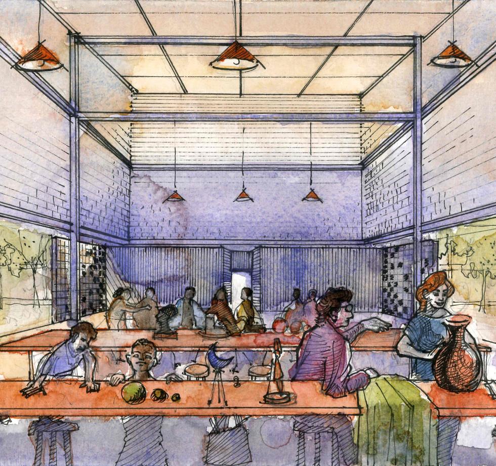 Atelier Centro Cultural - YVA Arquitetura