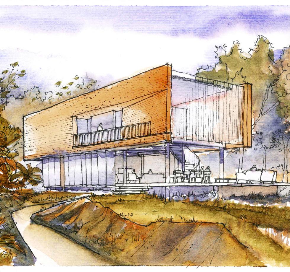 Casa em Morretes - YVA Arquitetura