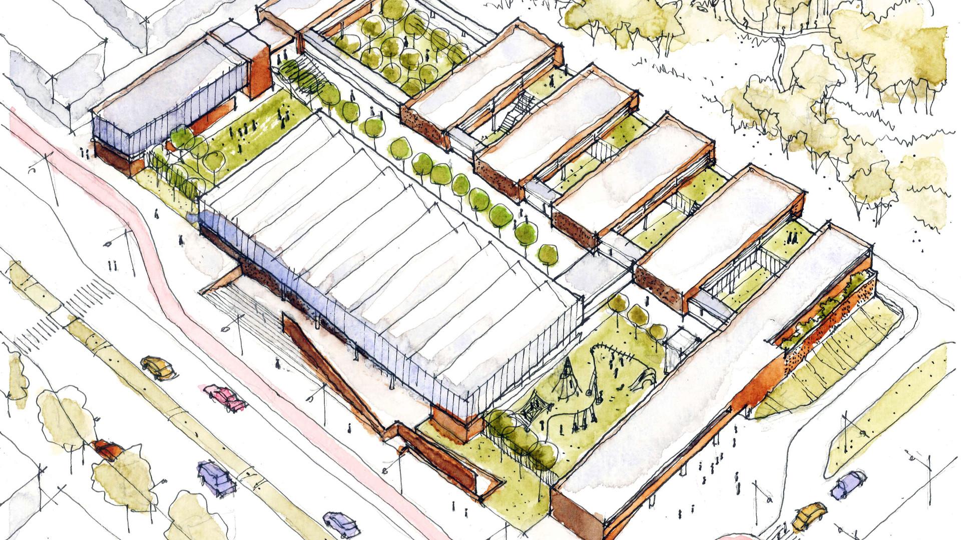 Escola Crixá Distrito Federal - YVA Arquitetura
