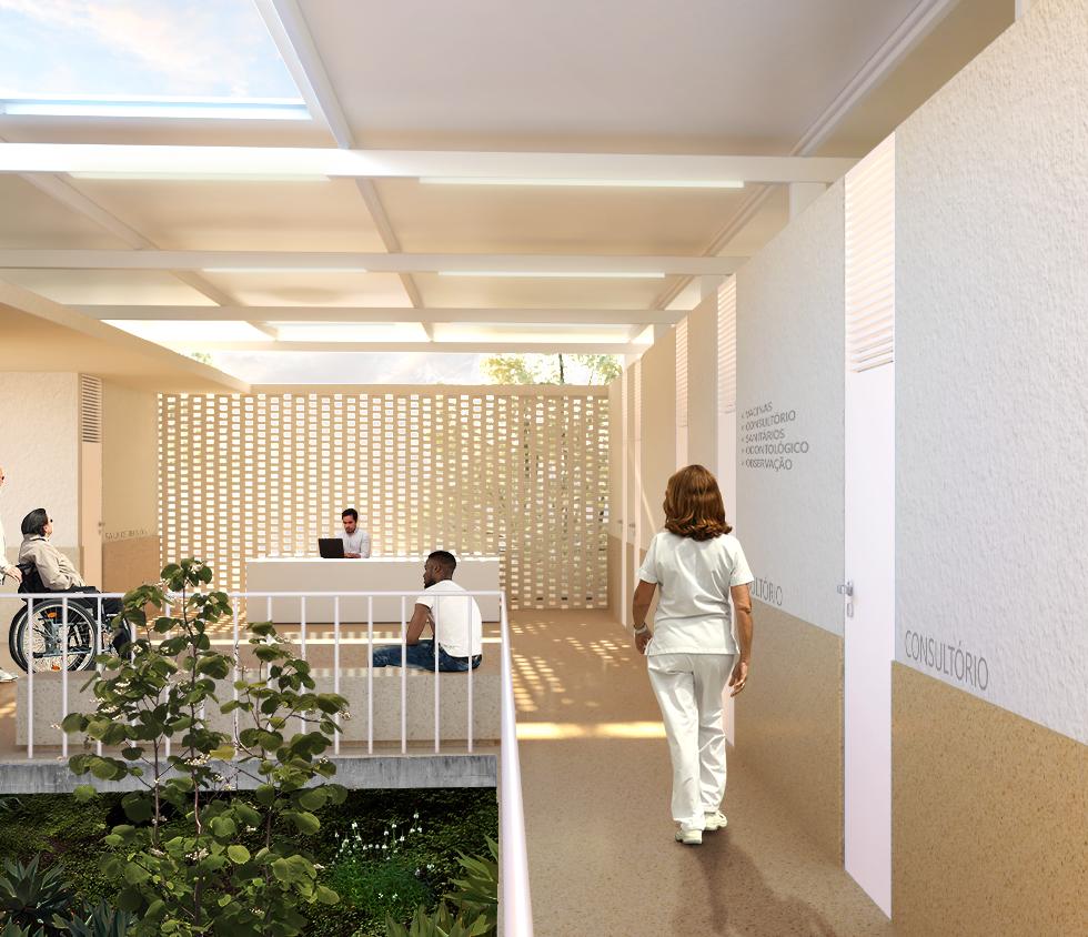 Unidade Saúde Gurugi - YVA Arquitetura 3