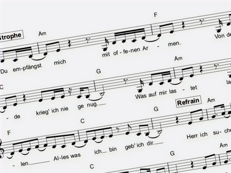 Deutsche Lieder braucht das Land