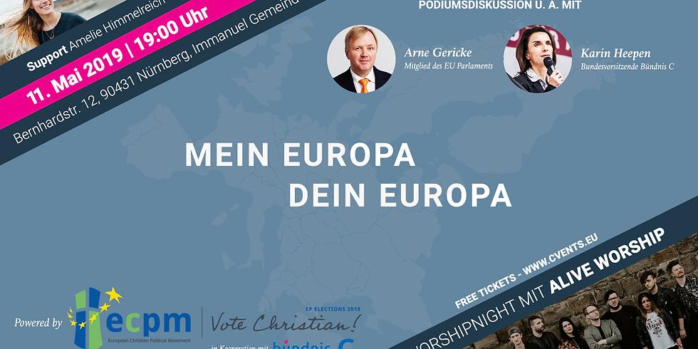 Mein Europa – Dein Europa