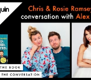 PENGUIN BOOKS. CHRIS AND ROSIE RAMSEY.BOOK LAUNCH.SEPTEMBER 8TH.