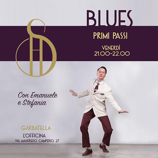Blues Primi Passi, venerdì 21:00, a L'Officina in Via Manfredo Camperio, 27, zona Garbatella