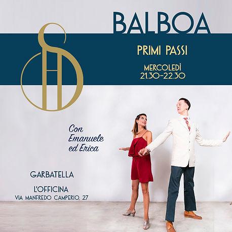 Balboa Primi Passi, mercoledì 21:30, a L'Officina in Via Manfredo Camperio, 27, zona Garbatella