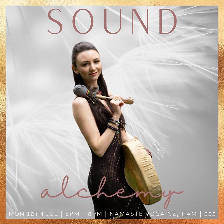 Sound Alchemy with Samantha May  | July 2021 Series |  Namaste Yoga NZ, Western Heights, Hamilton