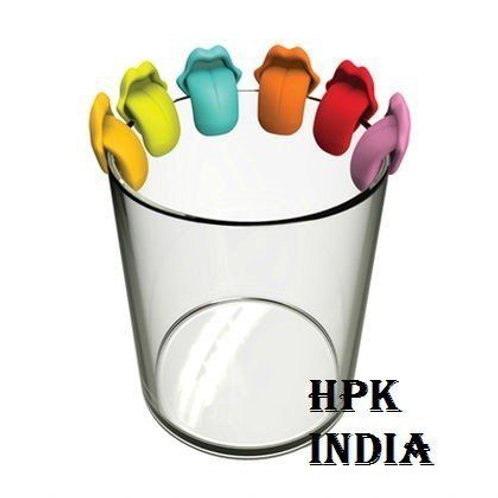 hpk 6 holo lala Tongue Party Drink Markers