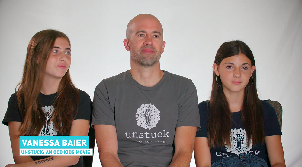 Vanessa, Chris and Charlotte Baier talk about their family experiences with OCD