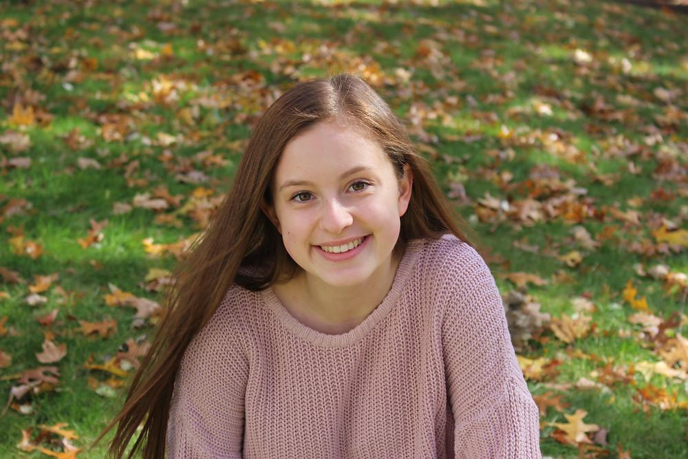 Alyssa Weninger. 2019 IOCDF Youth Hero Award presented by UNSTUCK