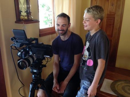 Filming underway