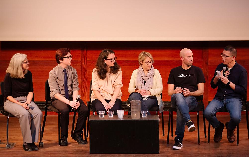 OCD Panel (Kelly Anderson, Jake Hitchcock, Epifania Gallina, Dr. Lisa Coyne, Chris Baier, Jay Lee