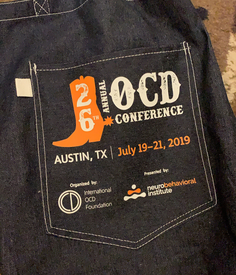 26th Annual OCD Conference swag Bag