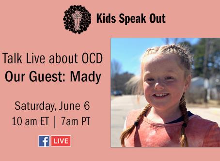 OCD Kids Speak Out RETURNS