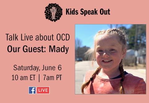 OCD Kids Speak Out Live Episode