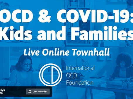 Special OCD event for parents & kids